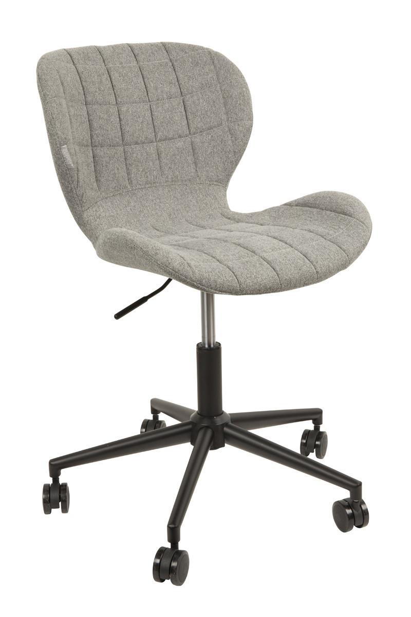 Zuiver krzes o biurowe omg szare biurowe szare for Bureau stoel